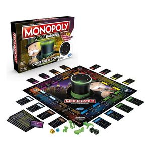 Monopoly Voice Banking Hasbro - spanische Version