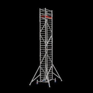 Krause STABILO FahrGerüst Serie 10, Feldlänge 2,00 m, Arbeitshöhe ca. 14,40 m