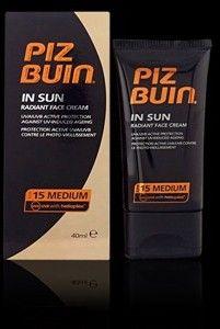 Piz Buin In Sun Radiant Face Cream Spf15 40ml