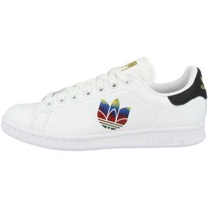 adidas Originals Turnschuhe Stan Smith W - Weiß / Schwarz / Gold, Größe:38