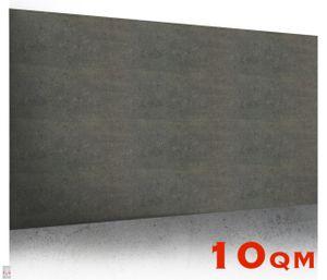 (!!! SPARPAKET 10qm / 20 Stück) Platte Betonimitat BETONDESIGN Wandpaneele Betonplatte Wandverkleidung Black Gold BETONWAND IMITATION Polystyrol