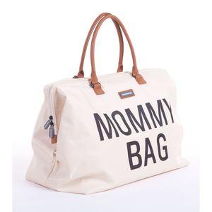 Mommy Bag Gross Altweiss/Schwarz