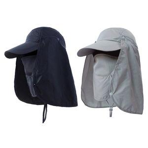 2 Stück Boonie Hut Männer Frauen Breite Krempe Ohr Halsabdeckung Sonnenklappe Outdoor Baseball Cap