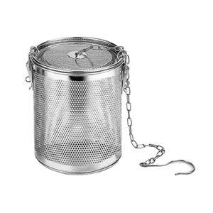 Edelstahl-Gewürzgewürzsieb Teekugelsieb 0.3L Größe 0,3 l