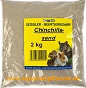 4 kg Chinchilla Sand, Terrarium, Bodengrund, Kies