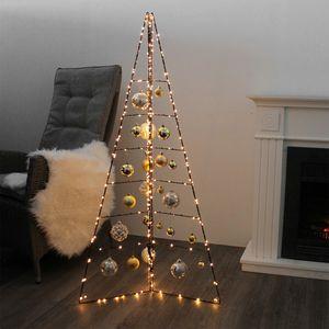 Weihnachtsdeko Aufsteller Weihnachtsbaum Metall Höhe 130cm