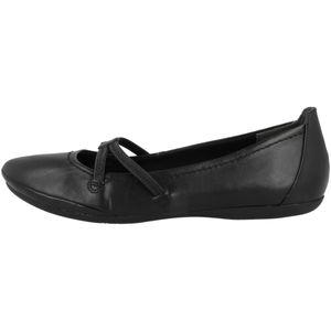 Tamaris Damen Ballerinas Slipper 1-22110-26, Größe:41 EU, Farbe:Schwarz