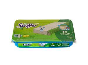 Swiffer Feuchte Bodentücher Nachfüllpackung mit frischem Zitrusduft 12 St.