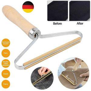 Miixia Lint Remover Fusselrasierer Fusselentferner Textilrasierer Wollrasierer Holz