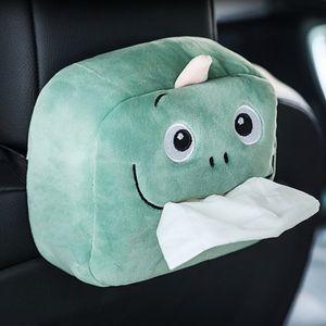 Auto Tissue Box Cartoon Gewebe Kästen Autositze Kosmetiktuchboxen für Home Office Car
