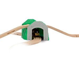 Eichhorn Tunnel, 3-teilig Holzeisenbahn Spielspaß für Kinder 1513 NEU