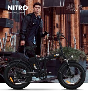 """""""DAS ONE"""" E-Bikes ONE NITRO 250W SCHWARZ"""