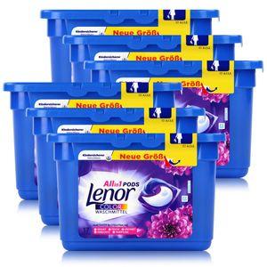 Lenor Allin1 Pods Amethyst Blütentraum Colorwaschmittel 17 WL (6er Pack)