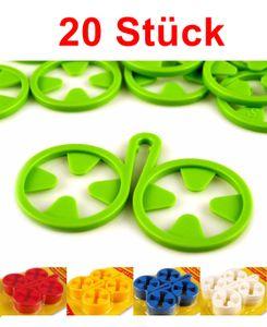 GKA 20 Stück Sockenhalter Sockenclips Sockensortierer Sockenklammer Wäscheklammer für Socken