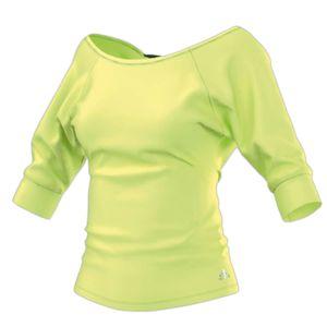 adidas Clima Yogi Twist Shirt Gr.XS frozen yellow (AB0029)