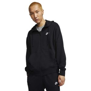 Nike Sportswear Club Zip Hoodie Jacke, schwarz, XXL, Herren