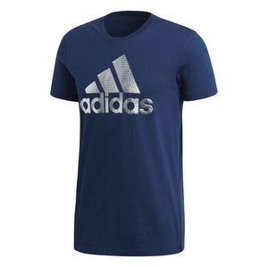 adidas Badge of Sport Foil Herren T-Shirt, Größe:M