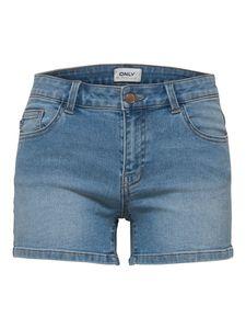 Only Damen Short 15176796 Light Blue Denim