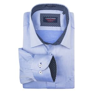 CasaModa XXL bügelfreies Langarmhemd hellblau, Kragenweite:44