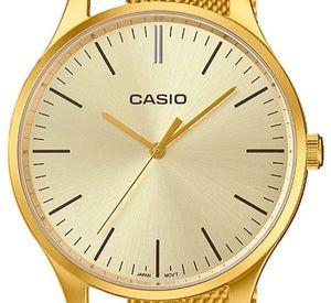Casio Collection Damenuhr LTP-E140G-9AEF Armbanduhr golden