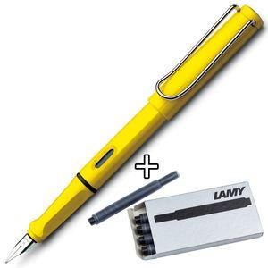 LAMY safari Mod. 018 yellow, Feder M