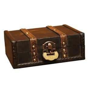 Holz Schmuckschatulle Schmuckkästchen Schmuckbox, Vintage-Stil