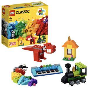 LEGO 11001 Classic Bausteine - Erster Bauspaß, Konstruktionsspielzeug