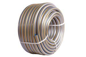 Hozelock Gartenschlauch Select Schlauch verschleißfest mit 3/4 Zoll (= 19 mm) oder 1/2 Zoll (=12,5mm) Durchmesser, Größe:1/2 Zoll Durchmesser, Länge:50m