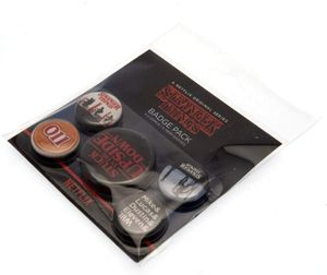 Stranger Things Ansteck-Buttons 5er-Pack Upside Down