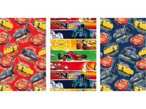 Disney Cars Geschenkpapier 3 Rollen im Set 200 x 70 cm Geschenkverpackung