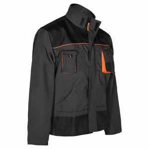 Arbeitskleidung ART.MaSter Classic schwarz/orange Jacke 56
