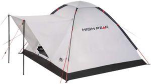 High Peak Campingzelt für 3 Personen, 1500mm wasserdicht, Kuppelzelt mit Vorbau, Igluzelt mit Wetterschutz- Dach, Festivalzelt mit Wannenboden