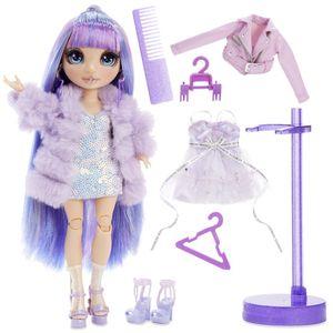 MGA Entertainment 569602E7C Rainbow High Fashion Doll- Violet Willows