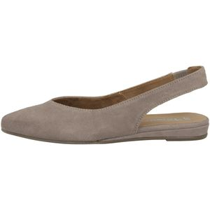 Tamaris Damen Schuhe Slingpumps Leder 1-29406-26, Größe:41 EU, Farbe:Beige