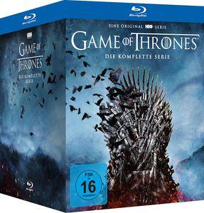 *Game of Thrones - kompl.BOX (BR) 30Disc Die komplette Serie, Staffel 01-08 - WARNER HOME  - (Blu-ray Video / Fantasy)