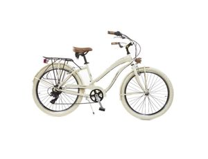 Via Veneto by Canellini Fahrrad Cruiser Frau Aluminium - Beige