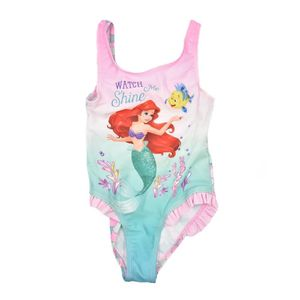 Disney Princess Badeanzug für Mädchen rosa 104/110