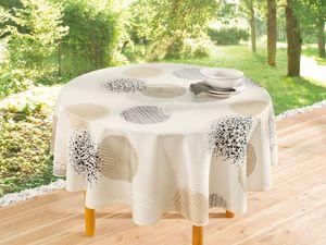 Tischdecke Sanfte Töne, rund, Maße Ø 160 cm
