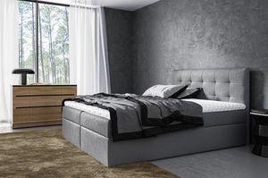 Boxspringbett Schlafzimmerbett VIDE 180x200cm inkl.Bettkasten