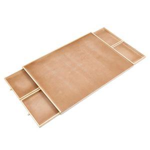 HI Puzzletisch mit 4 Schubladen 76x57x4,5 cm Holz