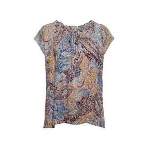 Esprit Women Bluse halbarm, Farbe:LIGHT BEIGE 4, Größe:34