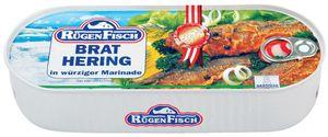 Rügen Fisch Bratheringe in würziger Marinade herzhaft saftig 500g