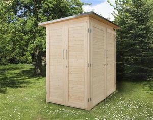 Gerätehaus / Geräteschrank Weka GartenQ Kompakt natur 210x150cm