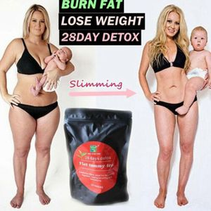 28 Tage Detox Gewichtsverlust Tee Gesundheit Diät Schlankheitshilfe Fett verbrennen Dünner Bauch
