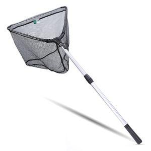 Zite Fishing Kescher Gummiert zum Angeln - Teleskop Angelkescher Diverse Längen auch für Kinder (160 cm)