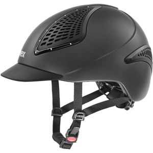 UVEX Reithelm EXXENTIAL II GLAMOUR VG1, anthracite mat, S-M (55-57 cm)