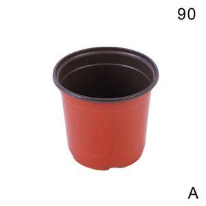 90 (A) $ bicolor Blumentöpfe und mehr Fleisch Pflanzen Garten liefert weiche Kunststoff-Saug-pp einfaches Plastik Kinderzimmer Töpfe kleine Töpfe Farbe