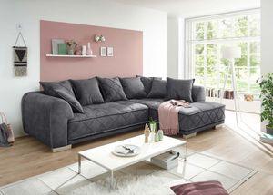 Designer BIG  Ecksofa Couch inkl. Kissen