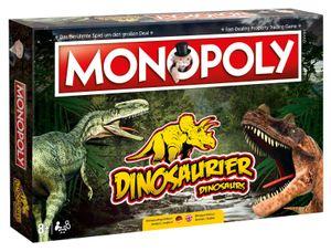 Monopoly Dinosaurier Dino Edition Gesellschaftsspiel Brettspiel Spiel