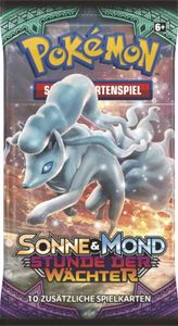 Pokémon Cards Sonne & Mond 02 Stunde der Wächter Booster